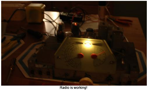 Radio is working!